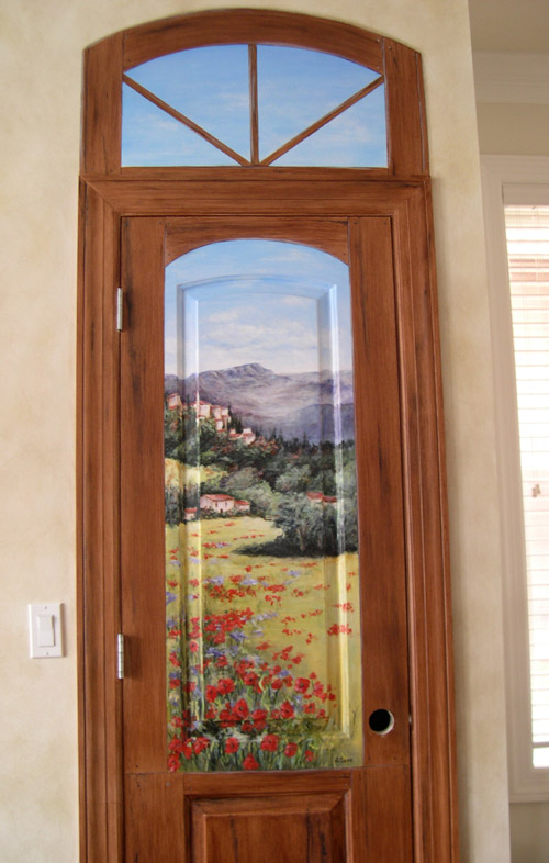Hand Painted Doors Painting On Doors Decorative Artist