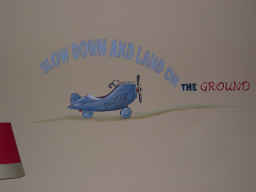 Boys Rooms - Cartoons - Murals - Hand Painted Designs