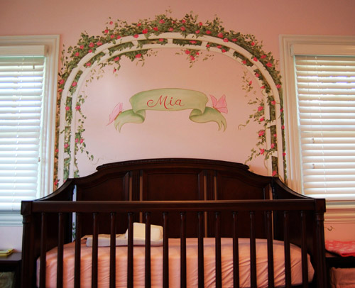 Personalized Nursery with Baby's Name