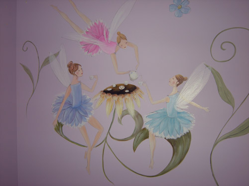 Faerie Tea Party - Faery - Fairy - Fairies