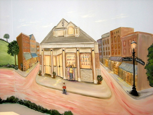 Retail Murals - Store Murals - Professional and Dental Offices