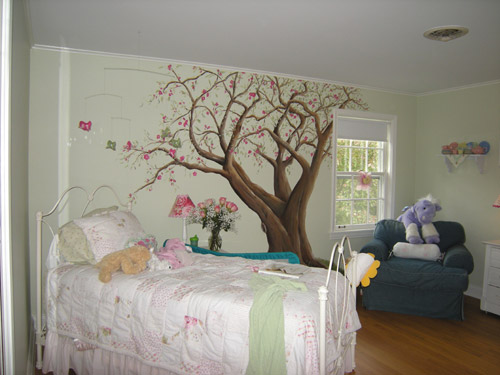Tree in Girl's Room